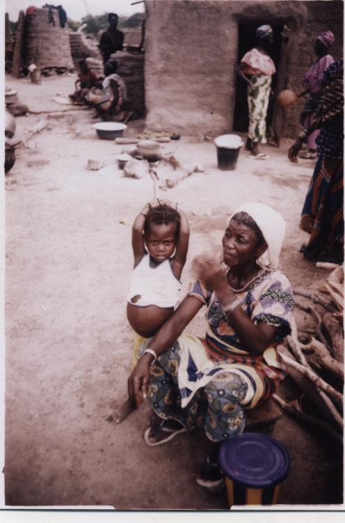 L'enfant et sa mère à Kouli